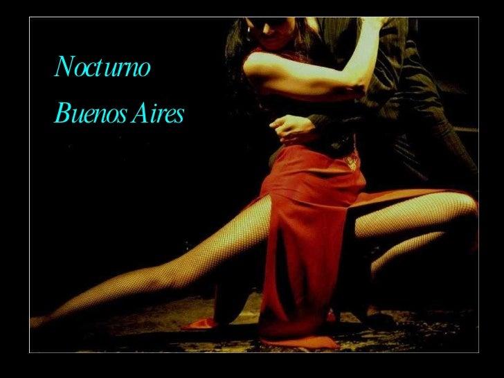 Nocturno Buenos Aires