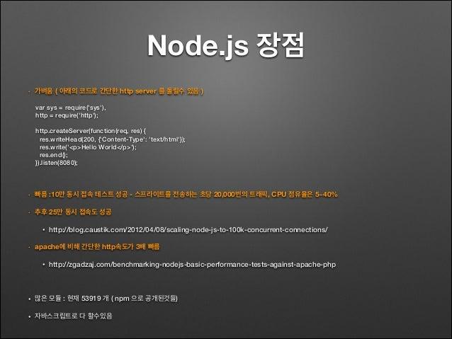 Node.js 기본 Slide 3