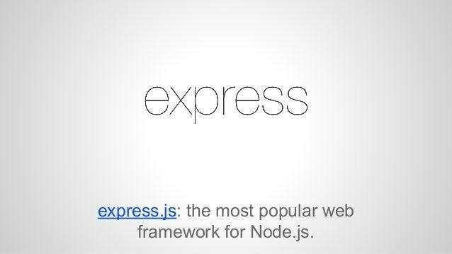 Node.js vs Play Framework Slide 3