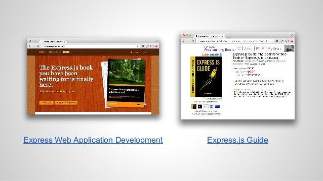 Express Web Application Development Express.js Guide