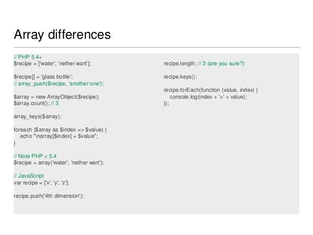 Node js for PHP developers