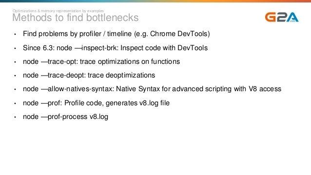 Node js behind: V8 and its optimizations