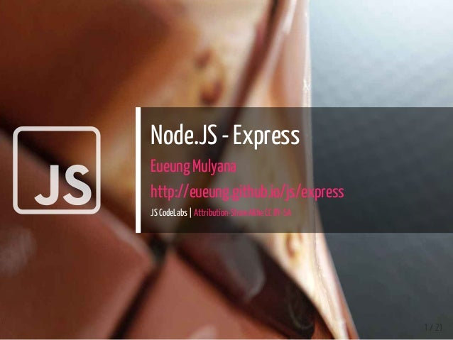 Introduction to Node JS Express