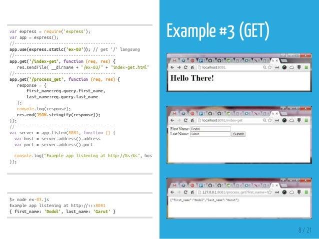 Introduction to Node JS Express