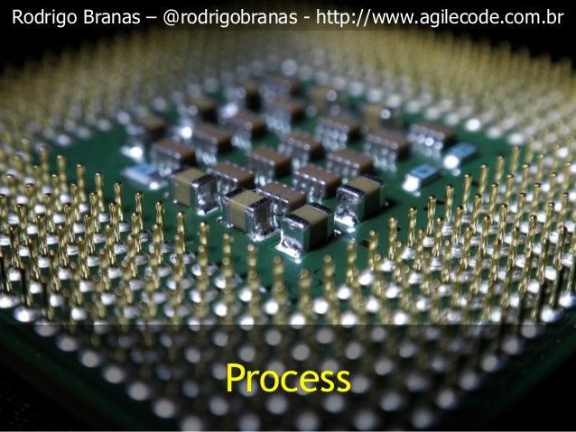Rodrigo Branas – @rodrigobranas - http://www.agilecode.com.br Process