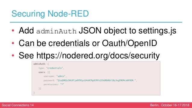 ICS INtegration with Node-RED and Open Source