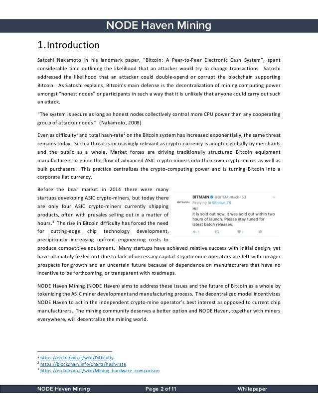 Gtx 750 Bitcoin Mining Satoshi Nakamoto Paper – Casanova
