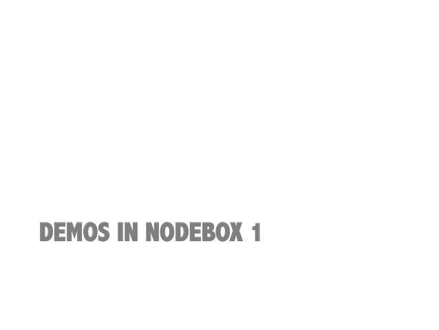 Nodebox linux for Consul python api