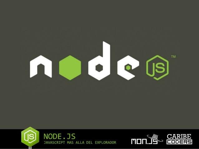 Que es esto ???? NodeJS es JavaScript… si así como lees, NodeJs es una implementación de JavaScript bajo el runtime con el...