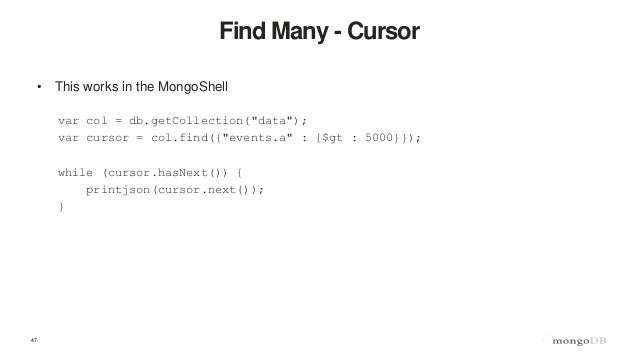 Getting Started with MongoDB and NodeJS