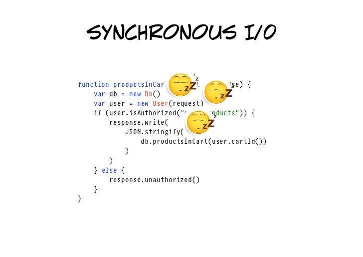single thread asynchronous I/0