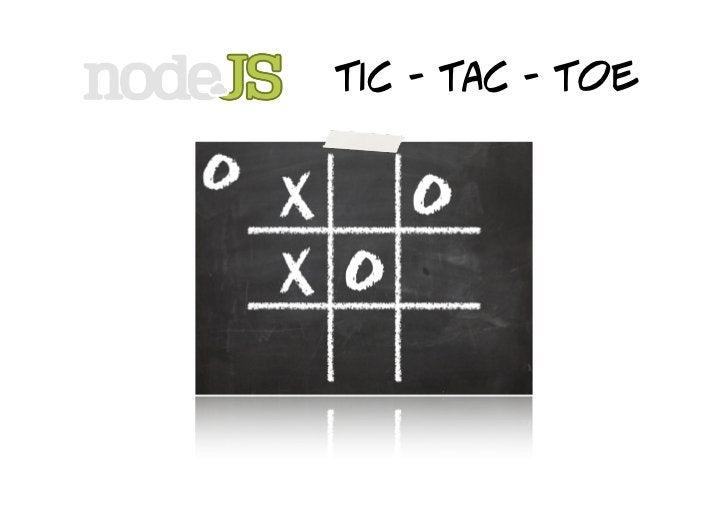 tic - tac - toe    demo