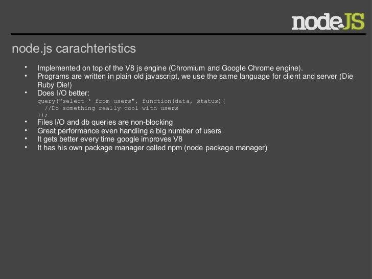 node js presentation