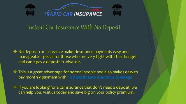 Very cheap car insurance no deposit ireland 15