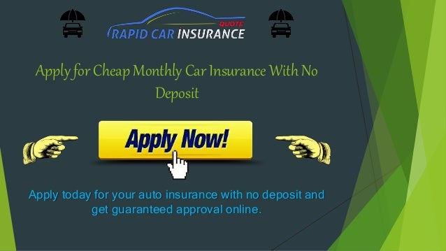 Very cheap car insurance no deposit ireland