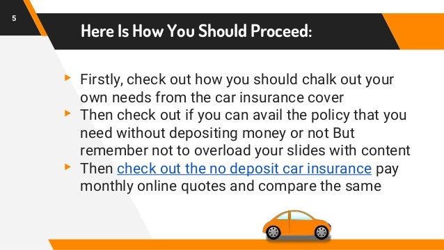 Go To Resources About Car Insurance Quotes With No Deposit