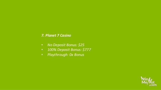 Top 10 No Deposit Casinos