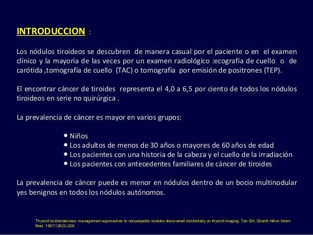 Nodulo tiroideo final noviembre 2015 Slide 3