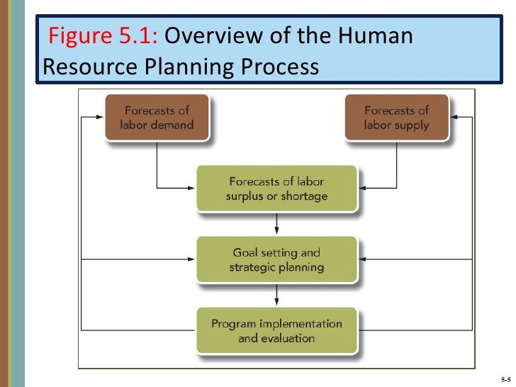 process of human resource planning Definition of human resources planning: the process that links the human  resource needs of an organization to its strategic plan to ensure that staffing is.