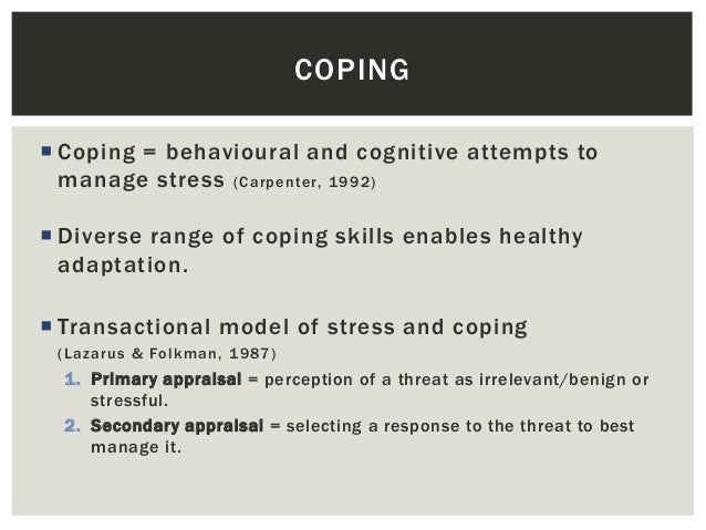 my coping skills to manage stress Stress and coping skills for teens do you romanticize your teen years with memories of hanging out with friends, dancing at homecoming and participating on.