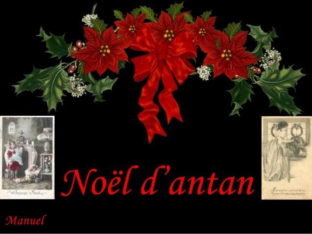 Noël d'antan Manuel
