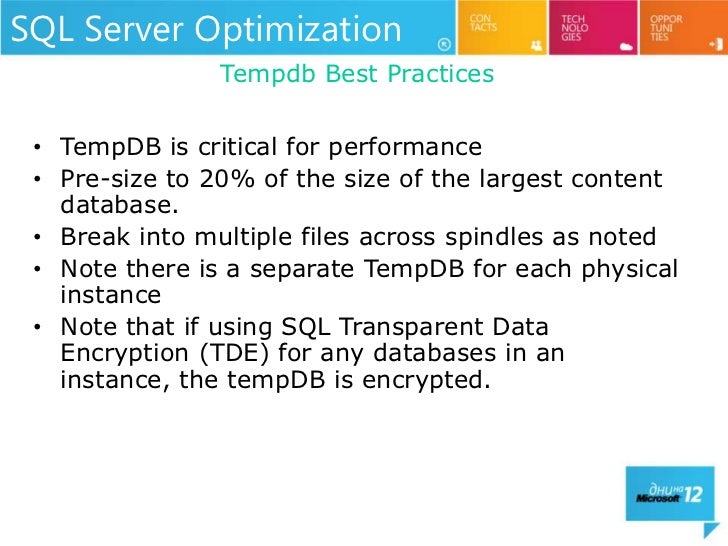 Building the Perfect SharePoint 2010 Farm - MS Days Bulgaria 2012 slideshare - 웹