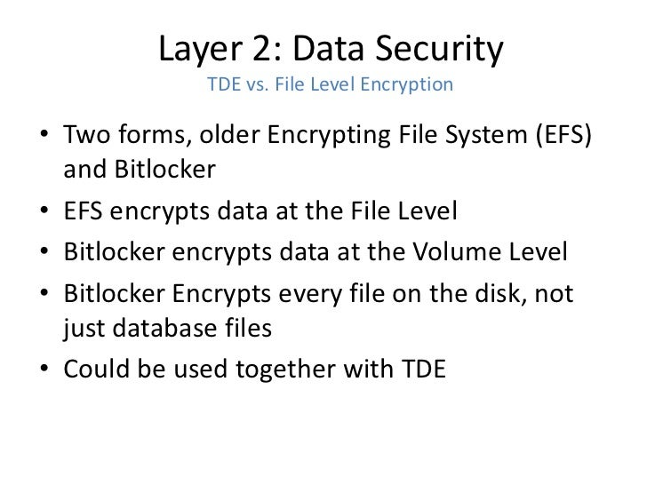 advantage and disadvantages of microsoft bitlocker Home blog seven reasons why you need bitlocker hard drive encryption for your the advantage of efs is that you to the bitlocker processes and microsoft has.