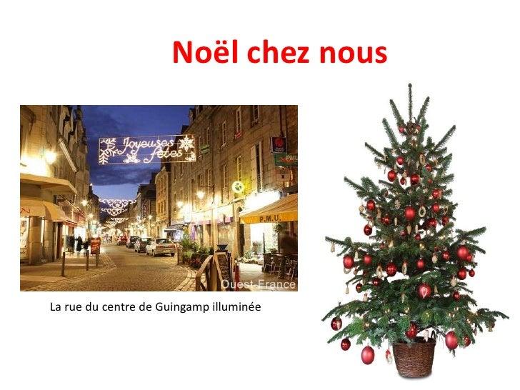 Noël chez nous <br />La rue du centre de Guingamp illuminée<br />