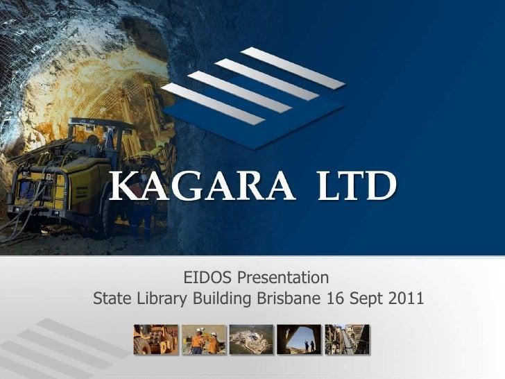 EIDOS Presentation<br /> State Library Building Brisbane 16 Sept 2011<br />
