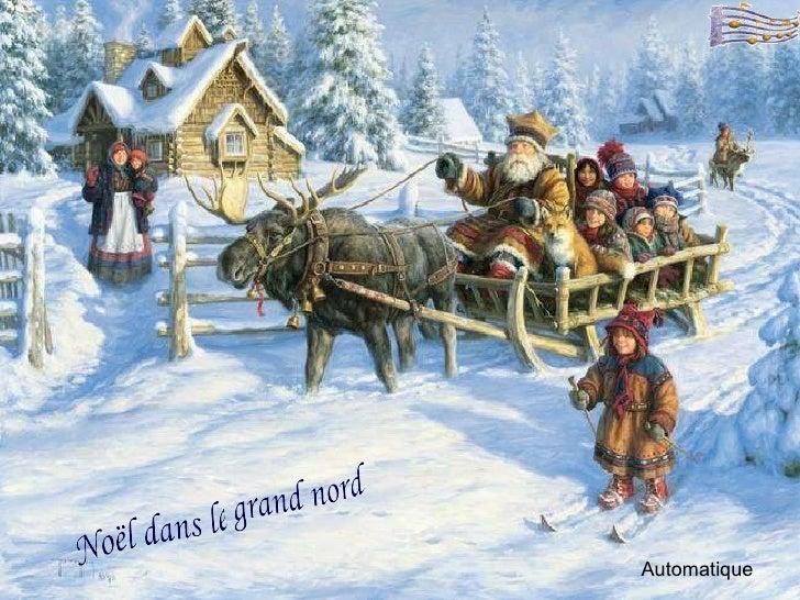 Automatique Noël dans le grand nord