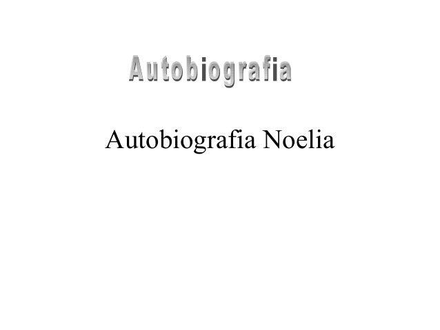 Autobiografia Noelia