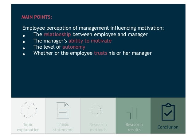 management summary the effects of motivation Summary cognitive evaluation theory, which explains the effects of extrinsic motivators on intrinsic motivation, received some initial attention in the organizational literature however, the sim.