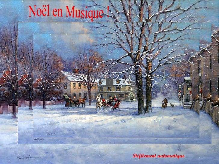 Noël en Musique ! Défilement automatique