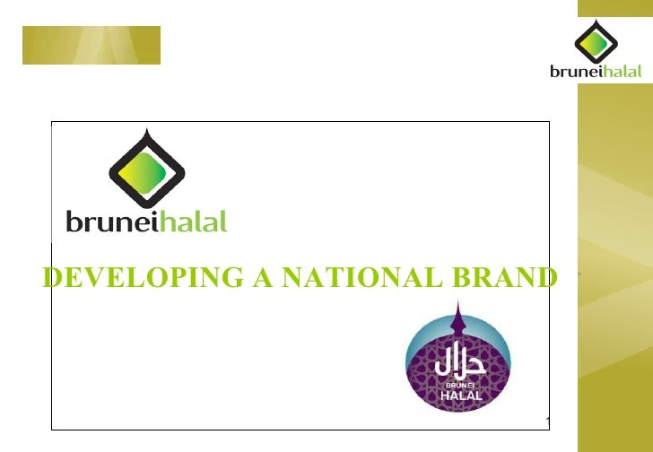 DEVELOPING A NATIONAL BRAND