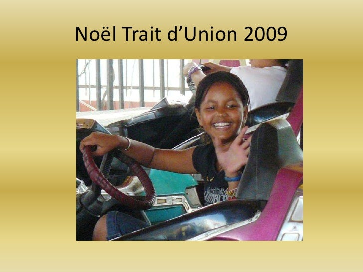 Noël Trait d'Union 2009<br />