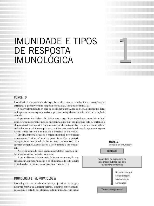 IMUNIDADE E TIPOSDE RESPOSTAIMUNOLÓGICA                                                                                   ...
