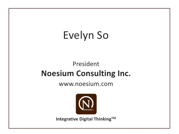 Noesium On Twitter At Techsoup 100209 Slide 2