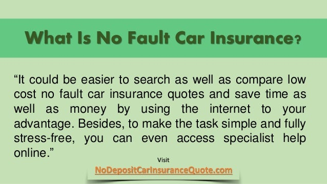 An analysis of no fault auto insurance - Essay Sample