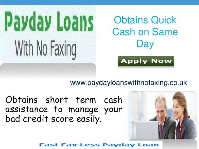 Bad Credit Loans Arrange Swift Money For Borrowers Slide 2