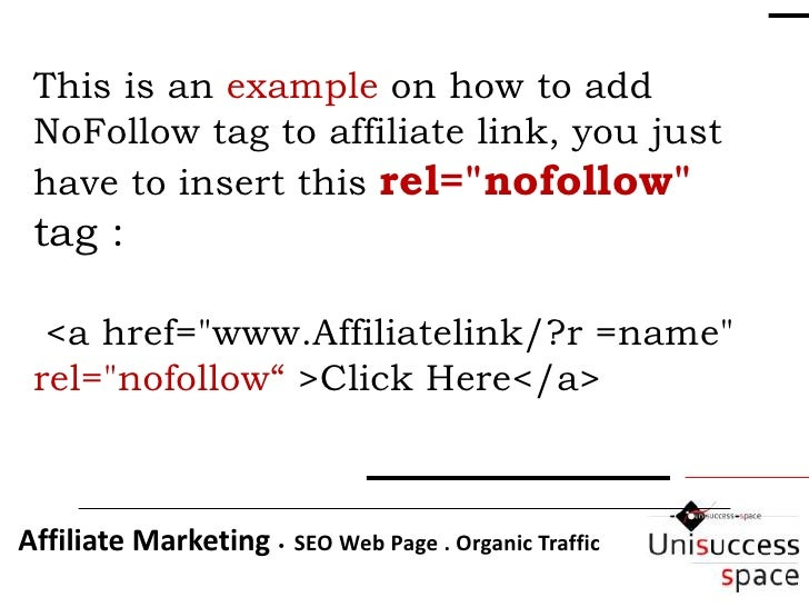 how to add nofollow to a link