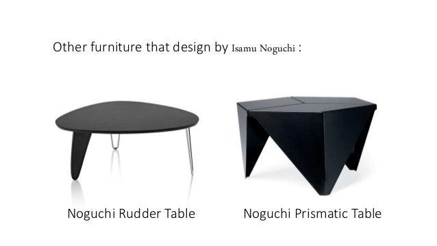 6. Other Furniture That Design By Isamu Noguchi : Noguchi Rudder Table ...