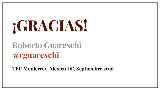 Roberto Guareschi No importa el futuro