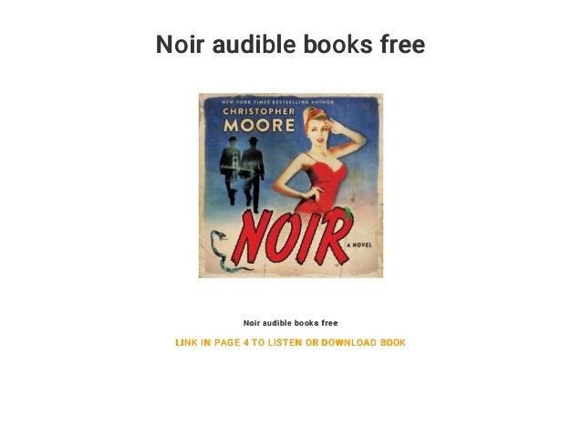 Noir audible books free