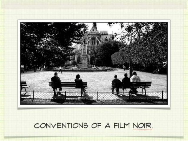 Noir conventions