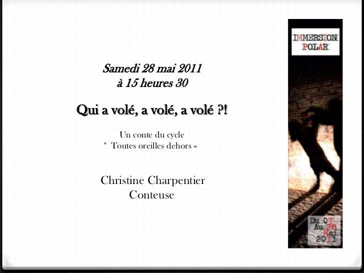 Le voyage de Nay (Editions Henry, 2011).