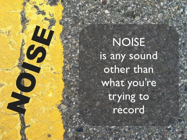 Audio Simplified: Noise, Distortion, and Gain Slide 2