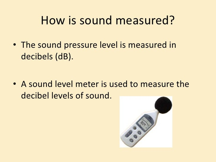 how to measure noise pollution Cirrus article 7 - measuring noise in the construction industry 7 the construction industry is a major source of pollution, responsible for around 4% of particulate.