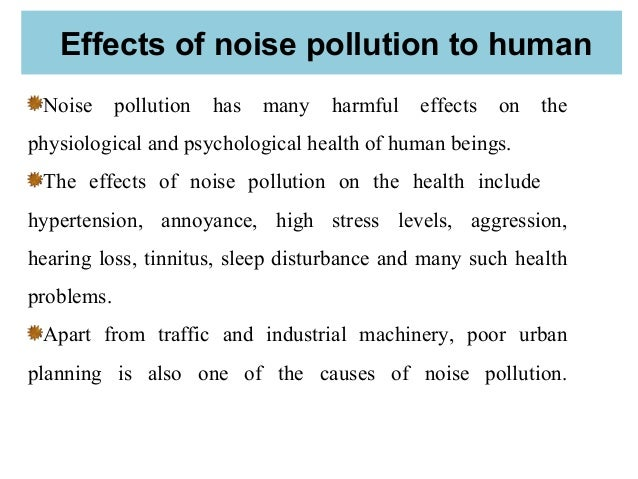 effects of pollution on human health essay