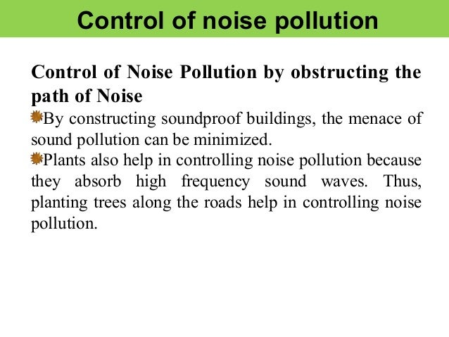 The Noise Pollution and Abatement Act of 1972 is a statute of the United States initiating a federal program of regulating noise pollution with the intent of