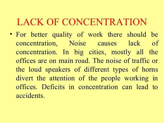 lack of concentration 5th part of 'heaven and hell within part 2' deals with the habit of lack of concentration.